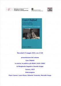 20-Presentazione volume_Caro Chabod