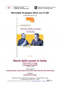 21-Presentazione volume Storia della scuola Italiana
