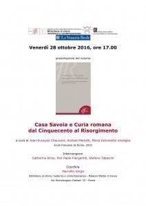 45-Casa savoia e Curia romana dal Cinquecento al Risorgimento
